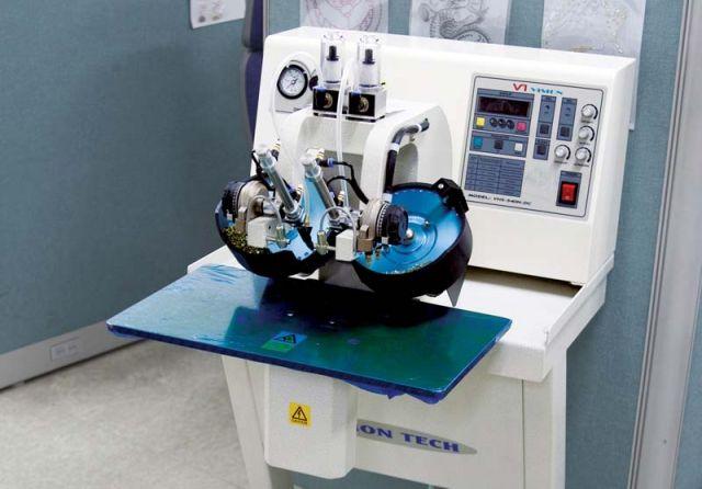 Çift Kafalı Ultrasonik Taş Yapıştırma Makinası